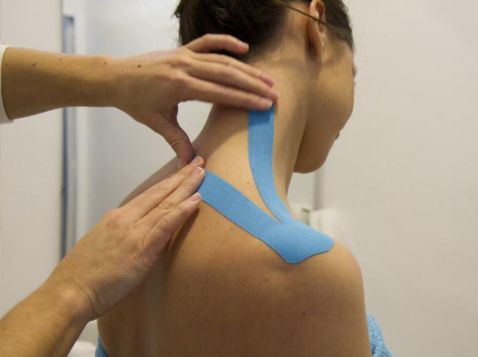Vendaje Neuromuscular en Clínica Fisioterapia Fuentes - Cádiz