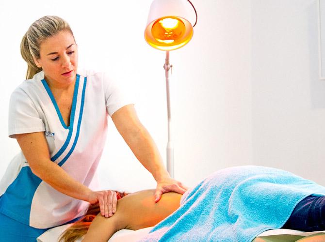 Infrarojos en Clínica Fisioterapia Fuentes - Cádiz